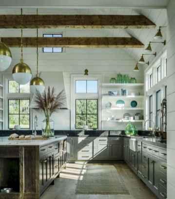 70 Beautiful Modern Farmhouse Kitchen Decor Ideas (34)