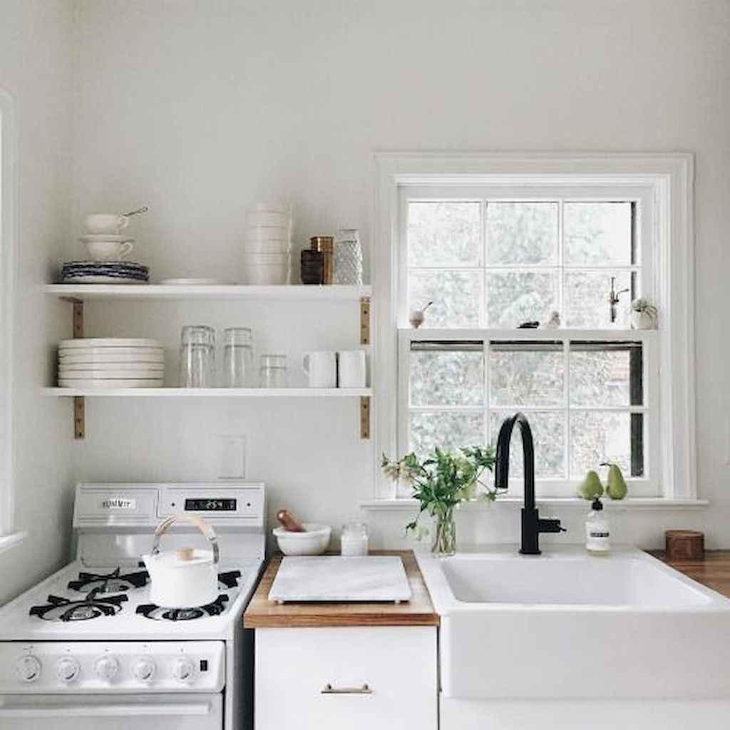 70 Brilliant Small Apartment Kitchen Decor Ideas