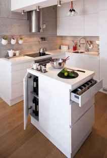70 Brilliant Small Apartment Kitchen Decor Ideas (46)