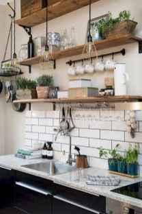 70 Brilliant Small Apartment Kitchen Decor Ideas (48)