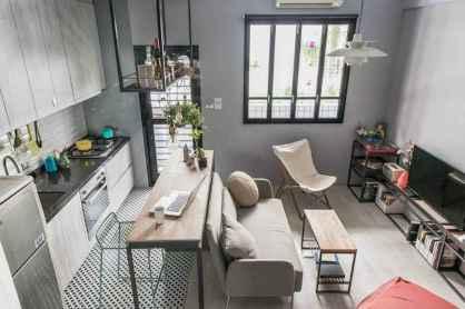 70 Brilliant Small Apartment Kitchen Decor Ideas (5)