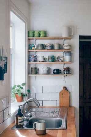 70 Brilliant Small Apartment Kitchen Decor Ideas (68)