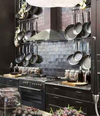 80 Incredible Hanging Rack Kitchen Decor Ideas (22)