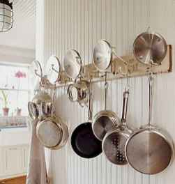 80 Incredible Hanging Rack Kitchen Decor Ideas (41)