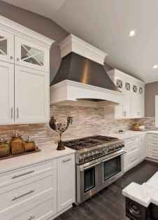 100 Supreme White Kitchen Cabinets Decor Ideas For Farmhouse Style Design (100)