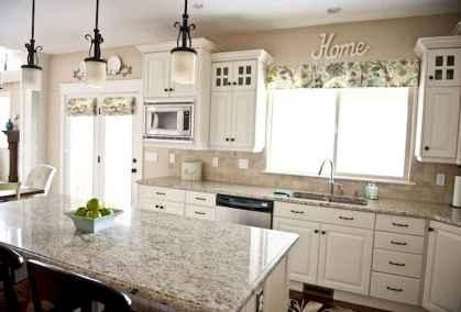 100 Supreme White Kitchen Cabinets Decor Ideas For Farmhouse Style Design (16)