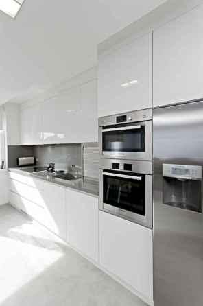 100 Supreme White Kitchen Cabinets Decor Ideas For Farmhouse Style Design (46)
