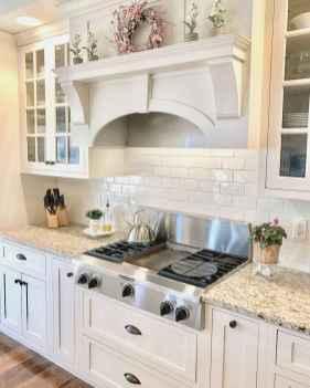100 Supreme White Kitchen Cabinets Decor Ideas For Farmhouse Style Design (6)