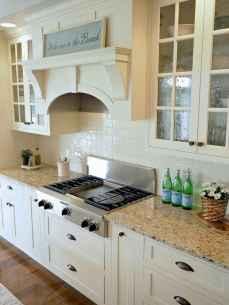 100 Supreme White Kitchen Cabinets Decor Ideas For Farmhouse Style Design (64)