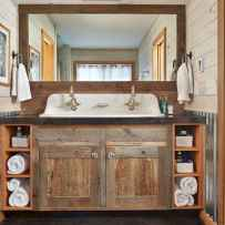 110 Supreme Farmhouse Bathroom Decor Ideas (35)