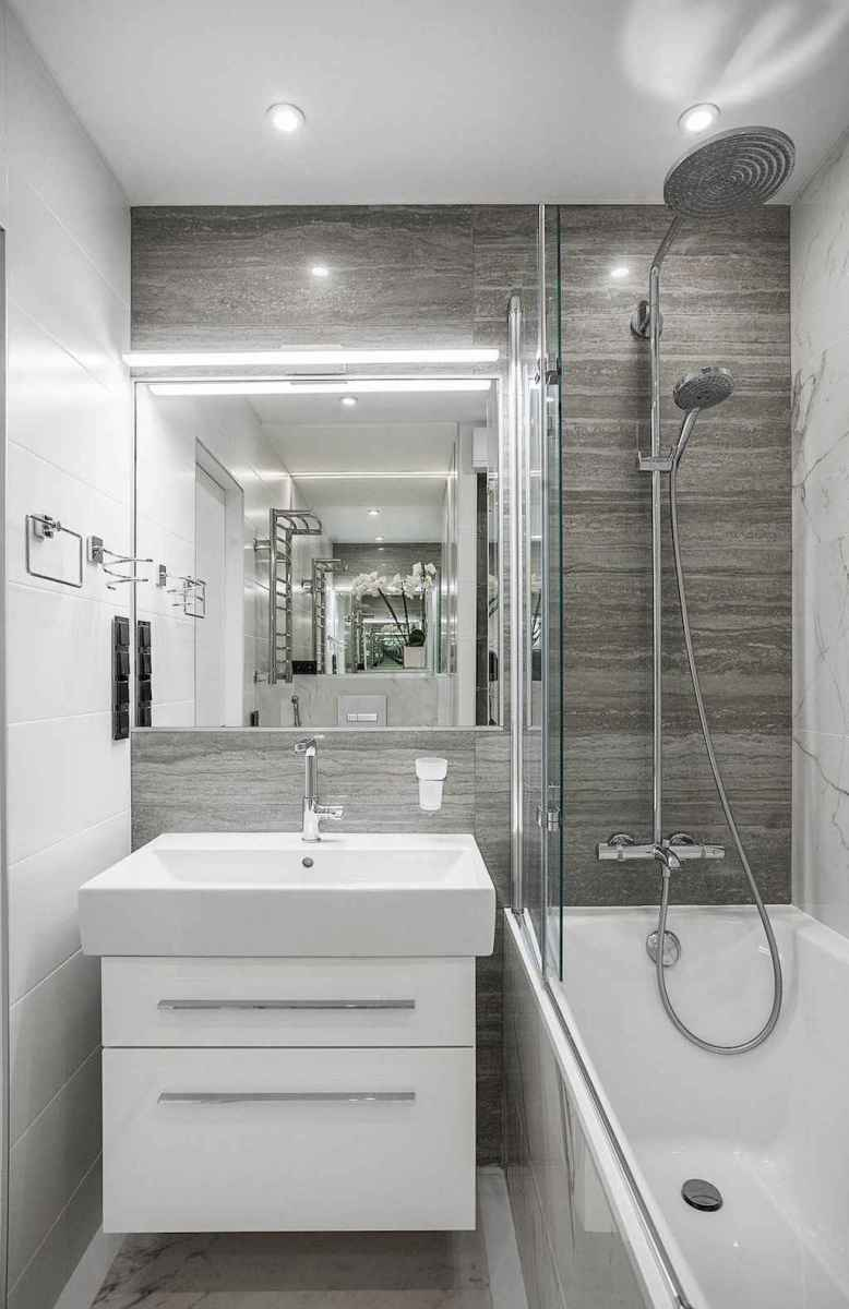 111 Best Small Bathroom Remodel On A Budget For First Apartment Ideas (86)
