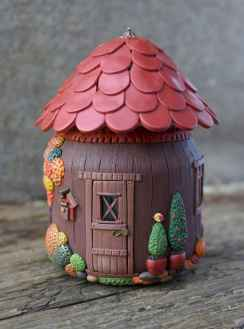 120 Easy And Simply To Try DIY Polymer Clay Fairy Garden Ideas (105)