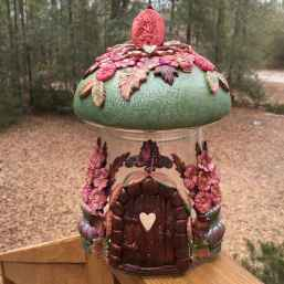 120 Easy And Simply To Try DIY Polymer Clay Fairy Garden Ideas (21)