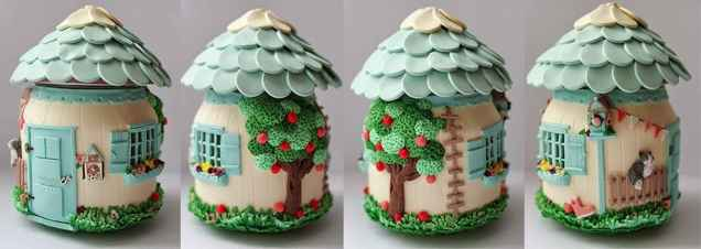 120 Easy And Simply To Try DIY Polymer Clay Fairy Garden Ideas (4)