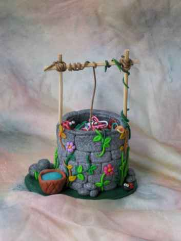 120 Easy And Simply To Try DIY Polymer Clay Fairy Garden Ideas (59)
