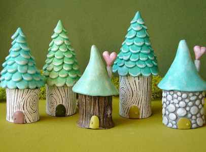 120 Easy And Simply To Try DIY Polymer Clay Fairy Garden Ideas (99)