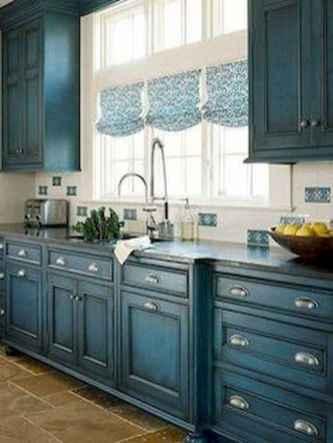 70 Best Farmhouse Kitchen Curtains Decor Ideas (25)