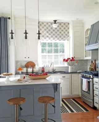 70 Best Farmhouse Kitchen Curtains Decor Ideas (67)