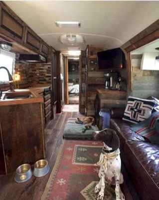 70 Brilliant RV Living Iinterior Remodel Ideas On A Budget (16)