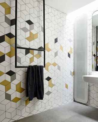 80 Best Farmhouse Tile Shower Ideas Remodel (120)