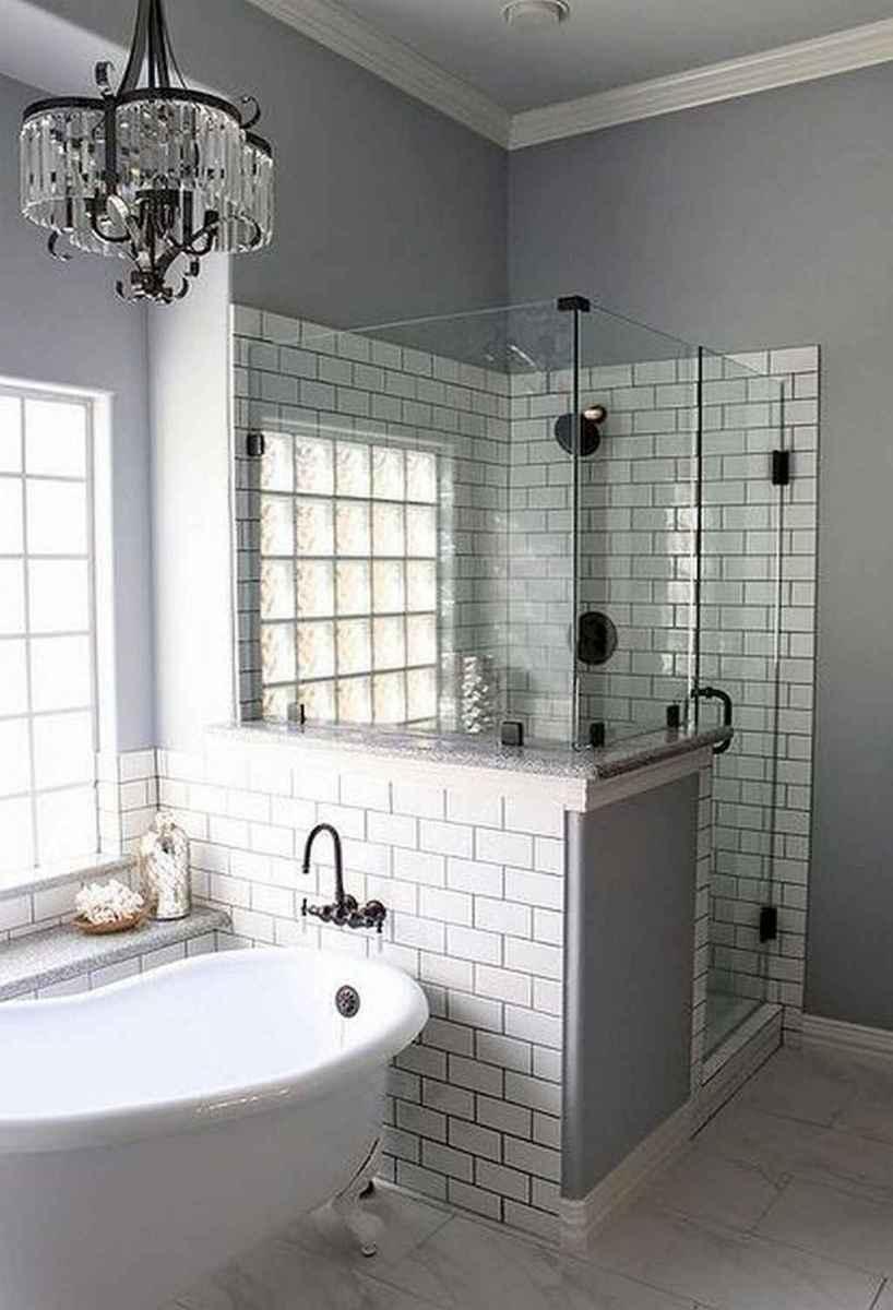 80 Best Farmhouse Tile Shower Ideas Remodel (132)