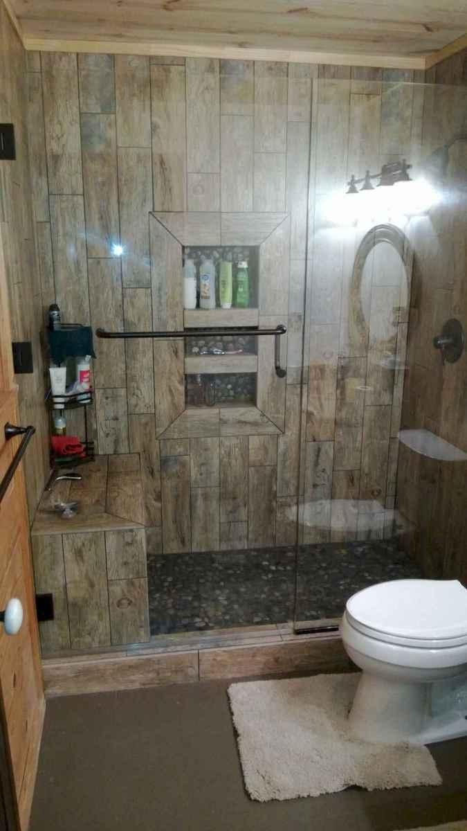 80 Best Farmhouse Tile Shower Ideas Remodel (150)
