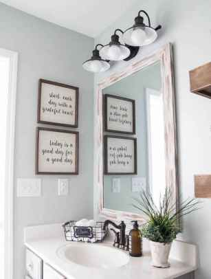 90 Awesome Lamp For Farmhouse Bathroom Lighting Ideas (12)