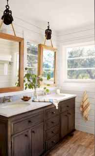 90 Awesome Lamp For Farmhouse Bathroom Lighting Ideas (45)