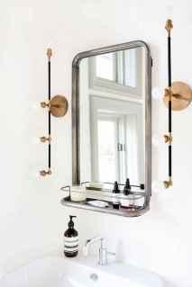 90 Awesome Lamp For Farmhouse Bathroom Lighting Ideas (46)