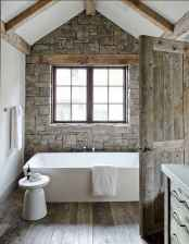 90 Awesome Lamp For Farmhouse Bathroom Lighting Ideas (55)