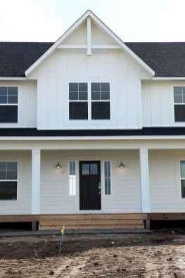 90 Awesome Modern Farmhouse Exterior Design Ideas (11)