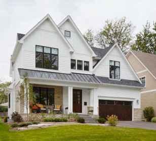 90 Awesome Modern Farmhouse Exterior Design Ideas (16)