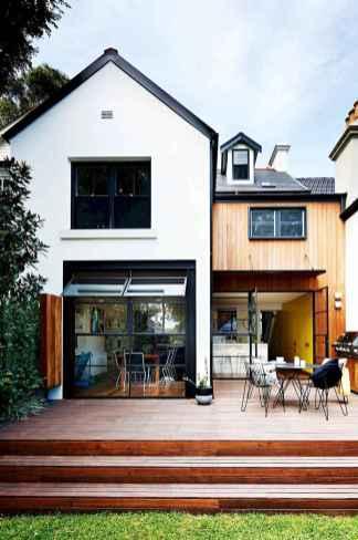 90 Awesome Modern Farmhouse Exterior Design Ideas (17)