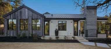 90 Awesome Modern Farmhouse Exterior Design Ideas (32)