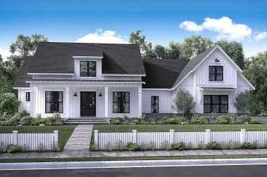 90 Awesome Modern Farmhouse Exterior Design Ideas (72)