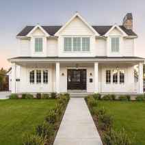 90 Awesome Modern Farmhouse Exterior Design Ideas (77)