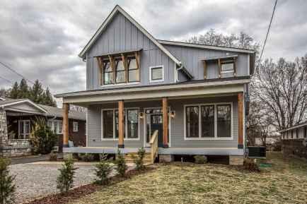 90 Awesome Modern Farmhouse Exterior Design Ideas (82)