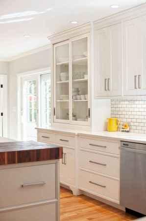 90 Best Farmhouse Kitchen Cabinet Design Ideas (113)