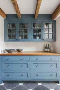 90 Best Farmhouse Kitchen Cabinet Design Ideas (132)