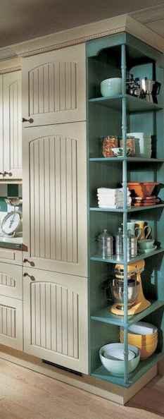 90 Best Farmhouse Kitchen Cabinet Design Ideas (139)