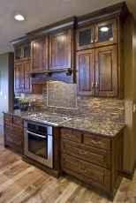 90 Best Farmhouse Kitchen Cabinet Design Ideas (182)