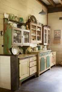 90 Best Farmhouse Kitchen Cabinet Design Ideas (183)