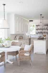 100 Elegant White Kitchen Cabinets Decor Ideas For Farmhouse Style Design (24)