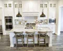 100 Elegant White Kitchen Cabinets Decor Ideas For Farmhouse Style Design (41)