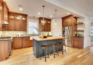 100 Supreme Oak Kitchen Cabinets Ideas Decoration For Farmhouse Style (53)