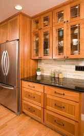 100 Supreme Oak Kitchen Cabinets Ideas Decoration For Farmhouse Style (76)