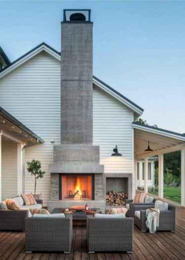 110 Beautiful Farmhouse Porch Decor Ideas (25)