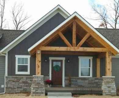 110 Beautiful Farmhouse Porch Decor Ideas (42)