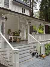 110 Beautiful Farmhouse Porch Decor Ideas (52)