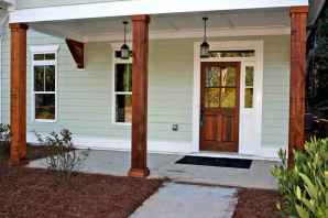 110 Beautiful Farmhouse Porch Decor Ideas (84)